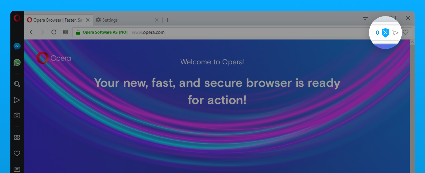 Security and privacy - Opera Help