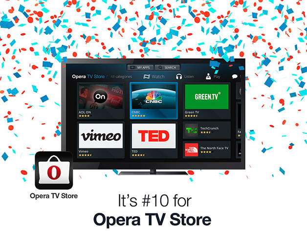 Number 10 for Opera TV Store