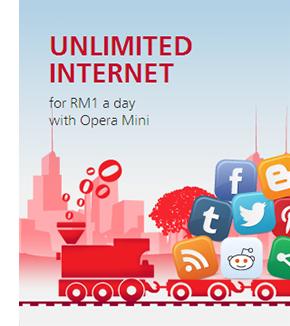 Maxis launches affordable mobile internet data plan via Opera Mini