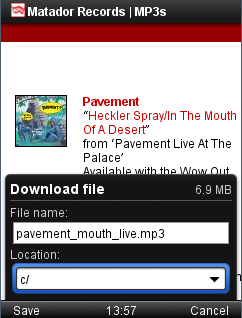 Smoother Downloading With Opera Mini For J2me And Blackberry Opera Newsroom
