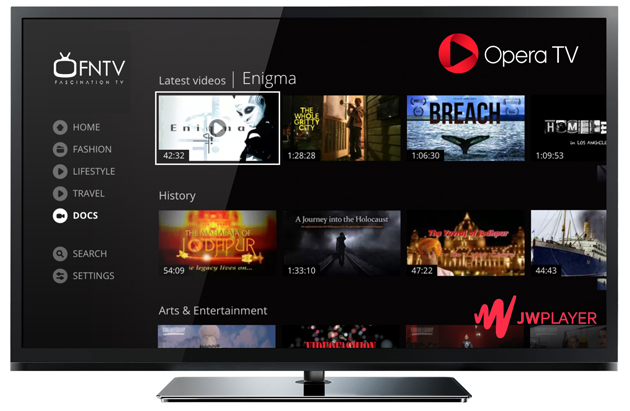 Opera TV Join Forces with JW Player to Help Content Creators