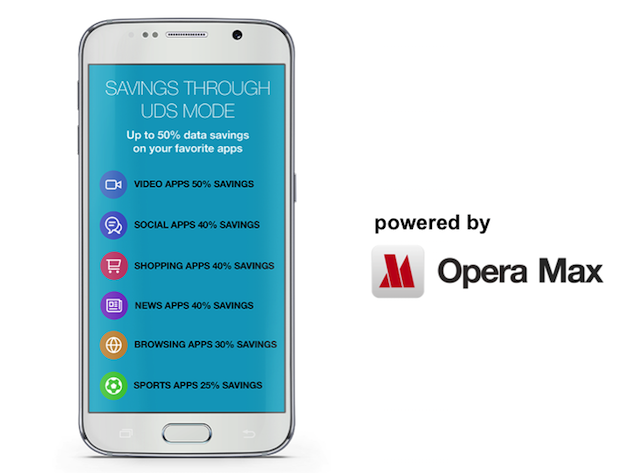 Opera Max supports Ultra Data Saving Mode for Samsung Galaxy J2