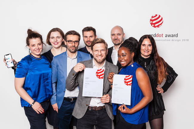 Opera team awarded Red Dot in Berlin