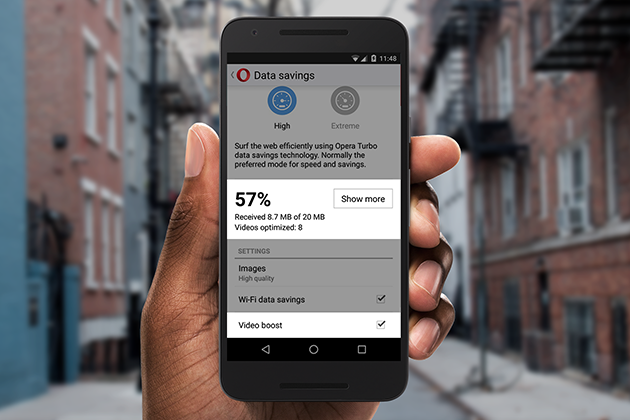 Video boost debuts faster video on Opera Mini for Android - Opera