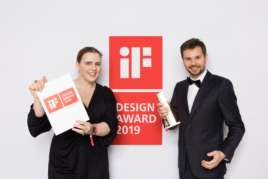 Opera Touch Wins IF Gold Design Award