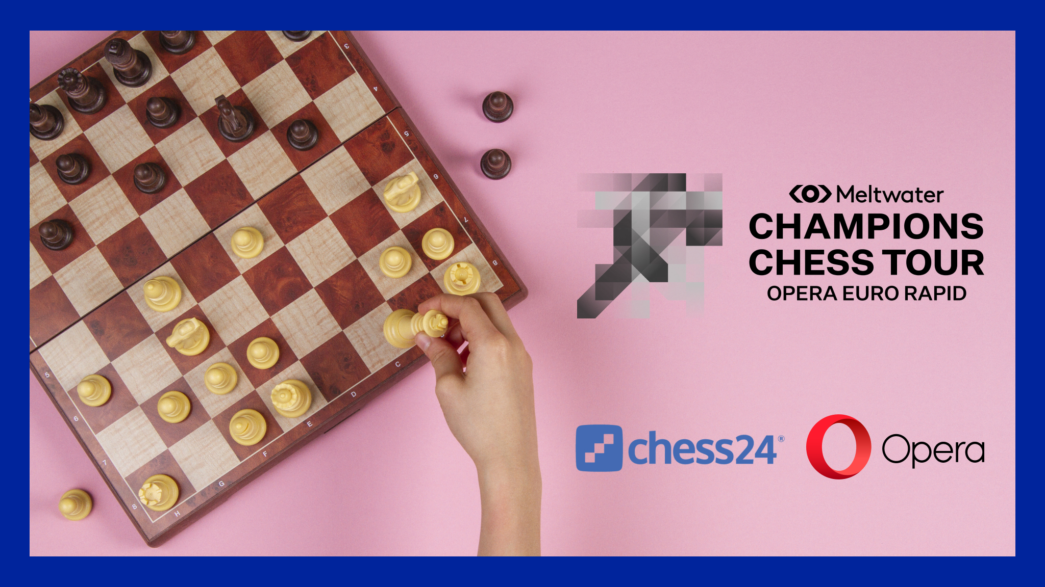 Opera Euro Rapid at Meltwater Chess Tour 2021 Chess24