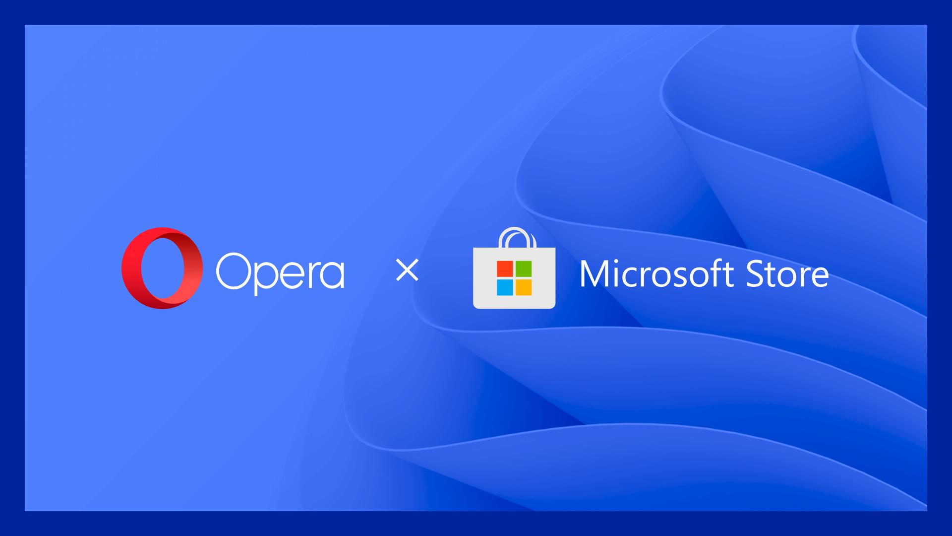 Opera Microsoft Store on Windows