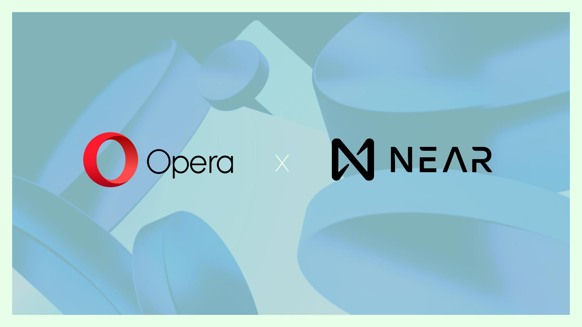 Opera to integrate NEAR protocol